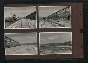 Port of Spain, Trinidad, Harbour Works, Photographs taken by P.S.H. Lawrence, 1939. Courtesy of Caribbean Through a Lens, The National Archives, UK